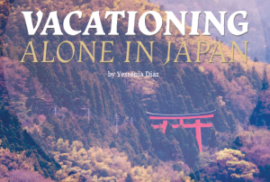 Vacationing Alone in Japan