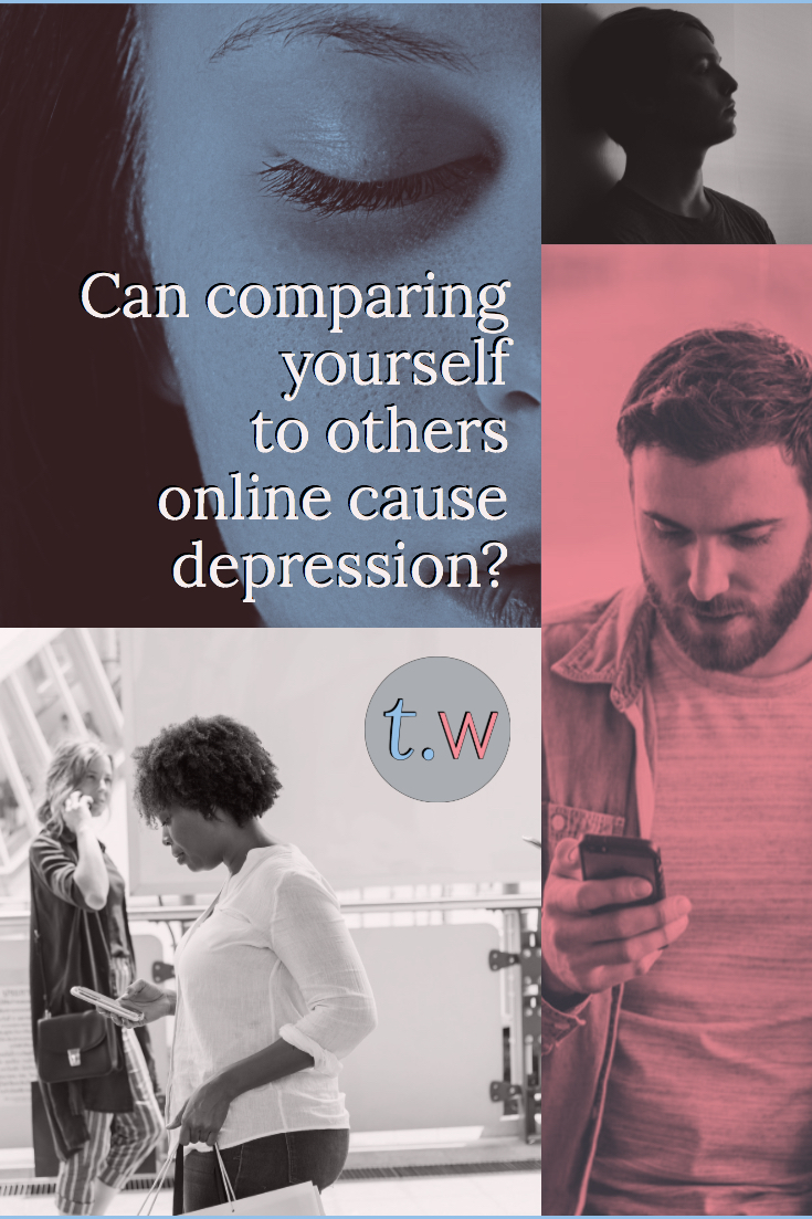 Comparison and Depression Pinterest