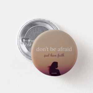 Have Faith Pin