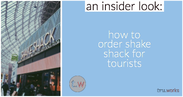 How to order shake shack